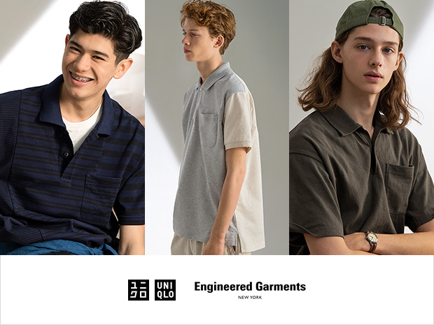 aa96b76107396 5月27日(月)販売開始 UNIQLO and Engineered Garments