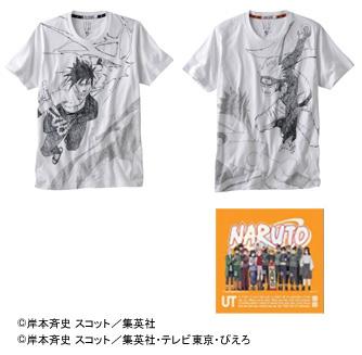 『NARUTO-ナルト-』グラフィックTシャツ