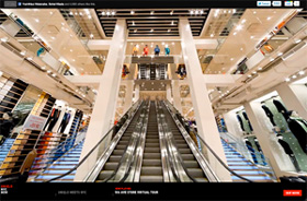 UNIQLO NY 5th avenue store virtual tour