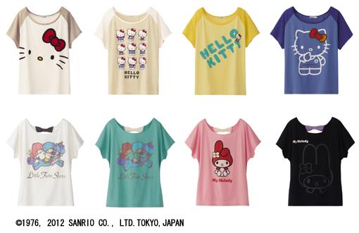 みんなの人気者、サンリオキャラクターと「UT」のコラボTシャツが登場 ...