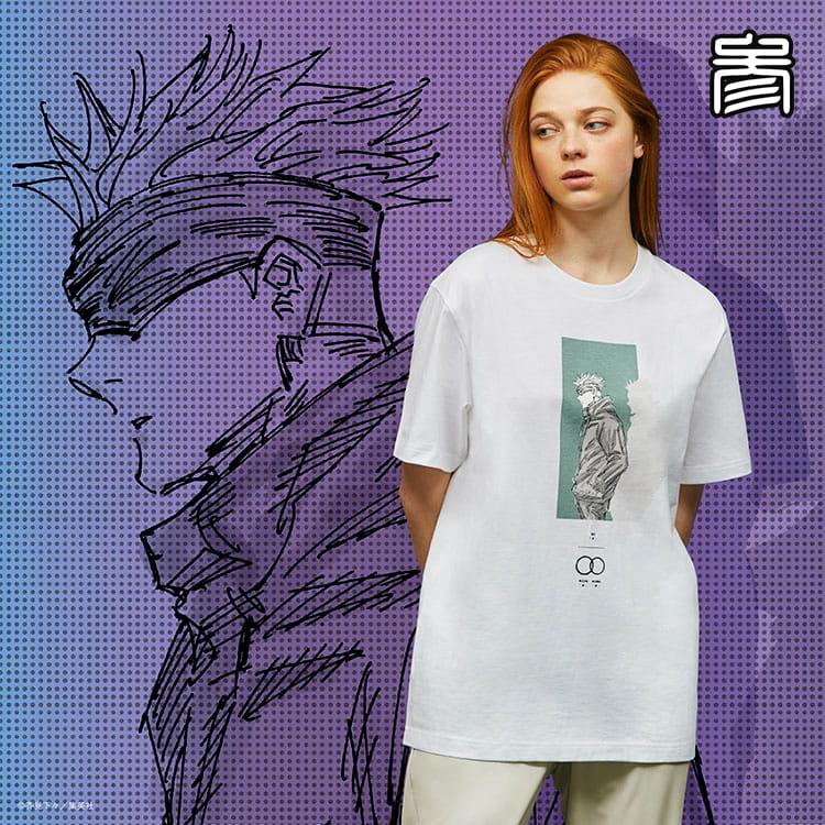 3. 呪術廻戦 UT グラフィックTシャツ 五条 悟(半袖・レギュラーフィット)