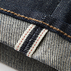 Detail of Stretch Selvedge Slim Fit Jeans